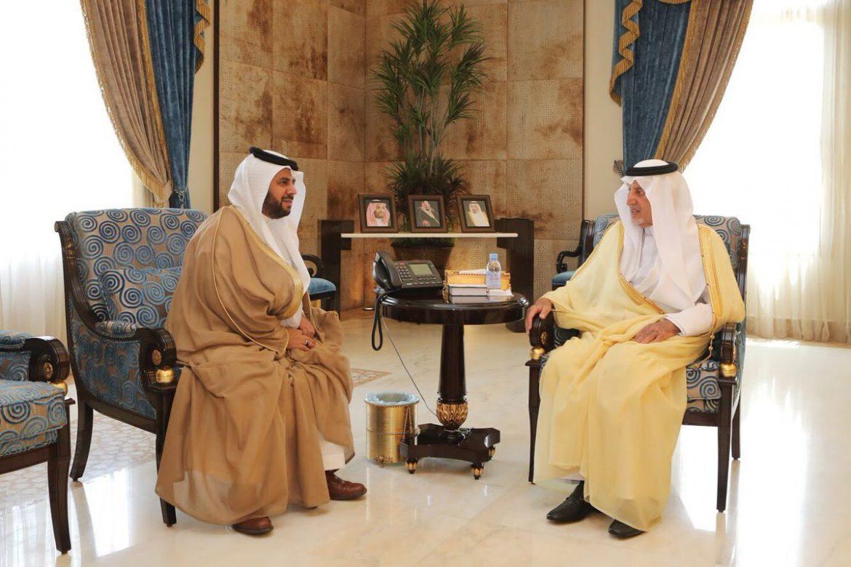 الفيصل يستقبل مدير تعليم مكة المكرمة المكلف