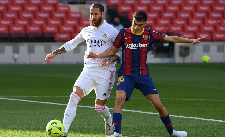 قال لاعب برشلونة بيدري غونزاليس إنه يستبعد انضمام قائد ريال مدريد سيرخيو راموس إلى النادي الكاتالوني في سوق الانتقالات الصيفي المقبل.