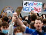 مظاهرات تشيلسي ضد دوري السوبر الأوروبي