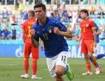يورو 2020: إيطاليا تهزم ويلز ويتأهلان معًا إلى ثمن النهائي