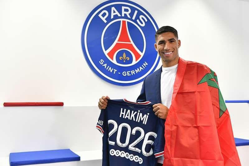 المغربي أشرف حكيمي إلى باريس سان جيرمان