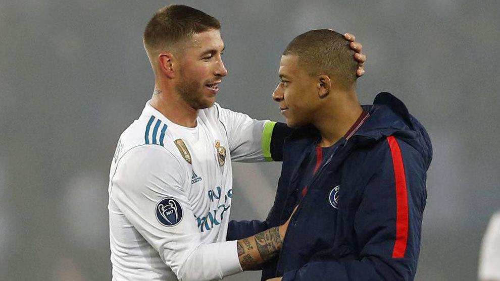 راموس يطلب من مبابي الانتقال إلى ريال مدريد.. ولكن!